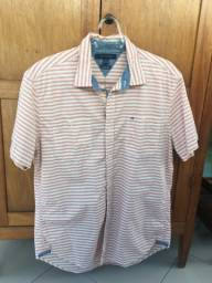 Camisa em Tecido Tommy Hilfiger