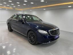 Título do anúncio: Mercedes-benz C 180 2019 1.6 cgi gasolina exclusive 9g-tronic