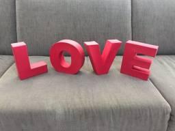 Letras 3D Tok&Stok Love
