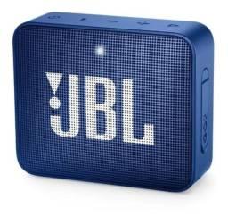 Caixa de Som JBL GO2 Bluetooth À Prova D´água Azul