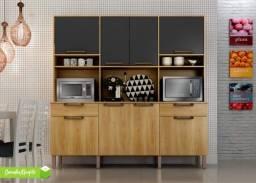 Armário Cozinha 8 Portas - Pague na Entrega