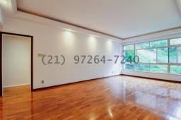 Título do anúncio: Apartamento com 120 m², 3 quartos (1 suíte) e 2 vagas na Lagoa - Rio de Janeiro/RJ