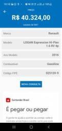 Título do anúncio: Logan Expression 1.6 8v flex