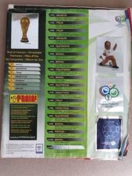 Album de figurinhas Copa do Mundo 2006 completo