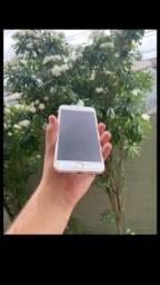 iPhone 8 Plus de 64 gb sem biometria   vendo ou troco com volta