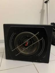 Caixa De Som Amplificada Active Box 12 Pol Hinor Subwoofer