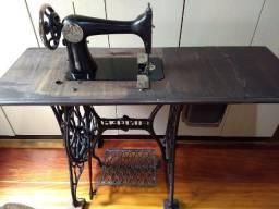Máquina Costura Singer Antiga Série H De 1907 Arca Com Chave - Aceito cartão