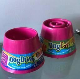 Título do anúncio: Comedouro e Bebedouro Elevado para cães