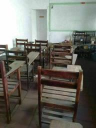Título do anúncio: Vendo cadeiras escolar bem Conservadas