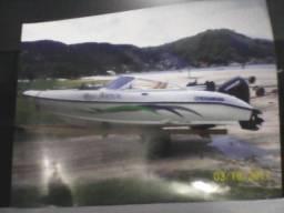 Lancha nxw de 16 pés ano 2012 motor de 50 hp ano 2008 envirude - 2012