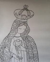 Pintura Maria