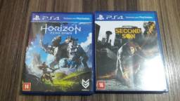 Horizon Zero Dawn e inFamous Second Son