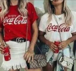 Blusa Coca-Cola Vermelha ( Clube JC Fashion)