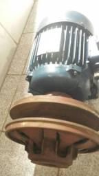 Motor de 2cv. com polia de rotação