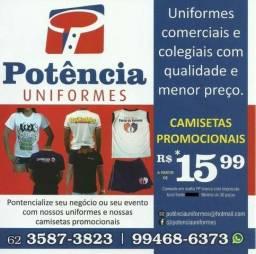 Uniformes Comerciais Personalizados - Potência Uniformes
