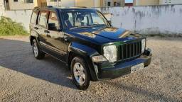 Imperdível jeep cherokee sport, 4x4, blindada, raridade - 2012