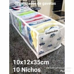 Organizador de Gavetas Colmeia kit c/10und Receba em Casa
