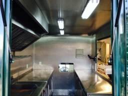 Food Truck Fabricação das pecas internas em inox