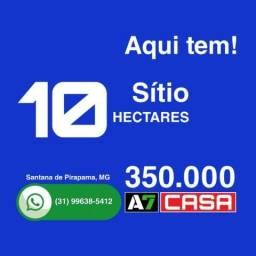 Vende Sítio 10 Hectares, Santana de Pirapama, MG
