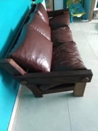 Sofá madeira
