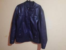 100 reais casaco motoqueiro