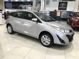 Toyota Yaris 1.3 manual COMPLETO COM PREÇO DE NOTA FISCAL DE FÁBRICA - 2019