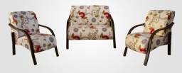 Conjunto de poltronas sofás