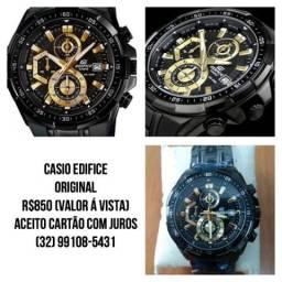 bb7fd2ef15d Relógio Casio Edifice Preto Original