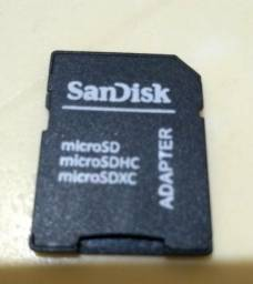 Adaptador SanDisk original para cartão de memória