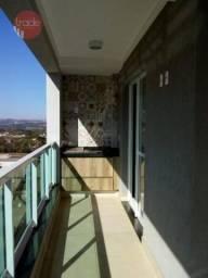 Apartamento com 2 dormitórios para alugar, 75 m² por r$ 2.200/mês - nova aliança - ribeirã