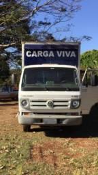 Caminhão Baú para transporte de equinos