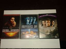 3 DVDs originais de Filmes - Pearl Harbor - Guerra dos Mundos - Independence Day comprar usado  São Paulo
