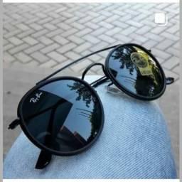 Óculos de Sol Redondo Double Bridge (Disponível em várias cores)