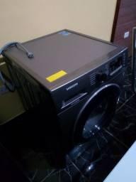 Geladeira e máquina Samsung