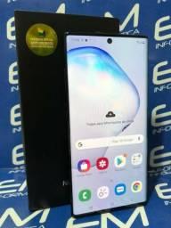 Samsung Galaxy Note 10+ 256GB - Cinza- Perfeito Estado - Garantia - Aceito Trocas