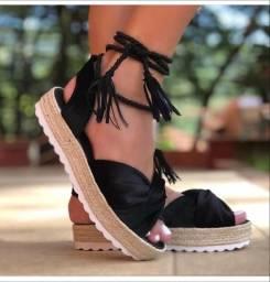 Sandálias de corda