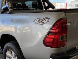 Hilux SRV turbo diesel 4x4 muito nova com baixa quilometragem único dono - 2016