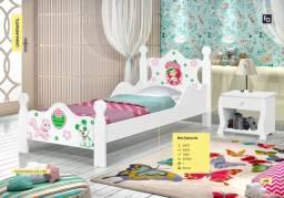 Mini cama moranguinho na promoção