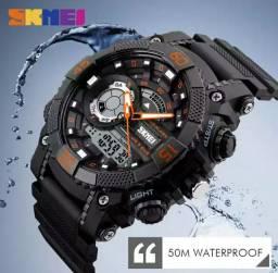Relógios skimei, ideal para todas as atividades. Prova dágua de 5atm.