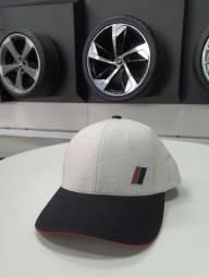 Boné Unissex Audi Bege