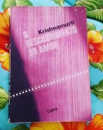 """""""O descobrimento do amor"""" de Krishnamurti, em bom estado"""