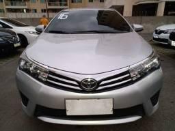 Toyota Corolla Gli 1.8  2016 63.900 Entrada+ parcelas fixas de 1.100