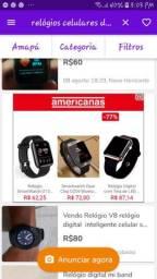 Relógio celular novo na caixa
