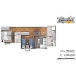 Apartamentos de 2 quartos no Setor Faiçalville