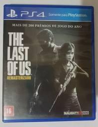 Jogo PS4 - The Last of Us Remasterizado