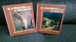 Arte espanhola da pre história ao seculo 20 2 vols 120 slides R$90