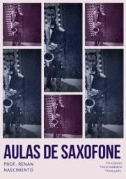 Aulas de Saxofone (Em domicílio)