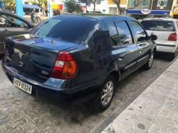 Clio Sedan exp 1.0 2005 completo