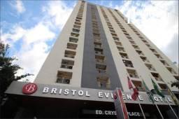 Flat 01 Suíte - Mobiliado - Setor Pedro Ludovico Ed. Bristol Evicdence Hotel