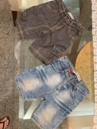 Título do anúncio: 2 bermuda jeans TAM 2